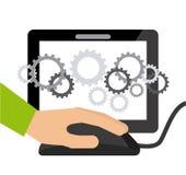 软件开发 向量例证