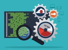 软件设计 免版税库存图片