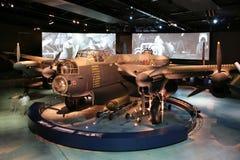 轰炸机兰卡斯特纪念平面战争 图库摄影