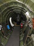轰炸机内部 库存图片