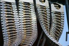 轰炸机项目符号枪设备 免版税库存照片