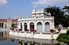 轰隆大厅pa宫殿接收夏天泰国 库存图片