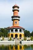 轰隆曼谷pa宫殿 图库摄影