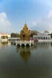 轰隆曼谷pa宫殿 库存照片