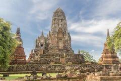轰隆痛苦在泰国 库存图片