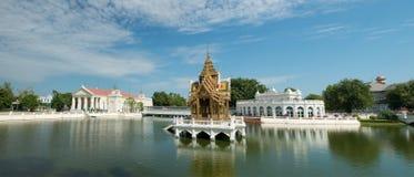 轰隆痛苦Aisawan,颐和园,泰国旅行 图库摄影