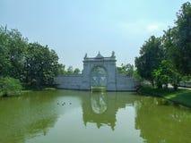 轰隆皇家pa的宫殿 免版税库存照片