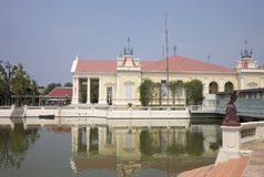 轰隆皇家pa的宫殿 库存图片