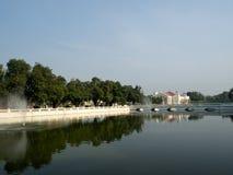 轰隆Pa在宫殿在泰国 免版税图库摄影