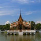 轰隆Pa在宫殿 免版税库存图片