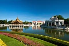 轰隆pa宫殿泰国 免版税库存照片