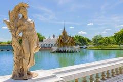 轰隆pa宫殿泰国 库存图片