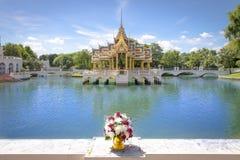 轰隆pa宫殿泰国 图库摄影