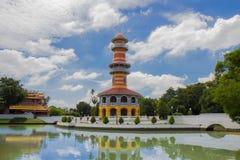轰隆pa宫殿泰国 免版税库存图片
