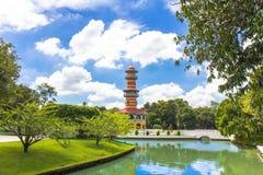 轰隆pa宫殿泰国 免版税图库摄影