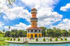 轰隆pa宫殿泰国 库存照片