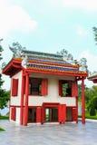 轰隆pa宫殿的中国宫殿在阿尤特拉利夫雷斯,泰国 库存图片