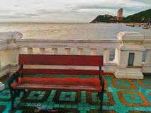 轰隆SaenÂ是aÂ沿东部墨西哥湾海岸ofÂ泰国的beachÂ镇 免版税库存图片