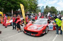 轰隆Saen速度节日,泰国2014年 免版税库存照片
