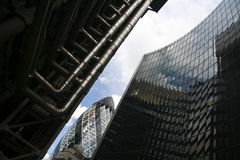轴城市嫩黄瓜伦敦marys st 免版税图库摄影