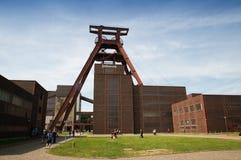 轴Zollverein煤矿XII  库存图片