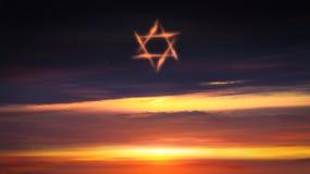 轻的天空 背景天堂耶稣宗教信仰 免版税库存图片