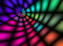 轻的彩虹 免版税库存图片