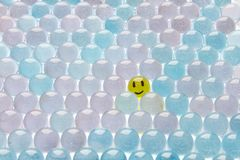 轻的微笑 免版税库存照片