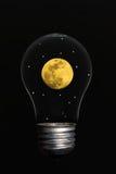 轻的月亮 库存图片