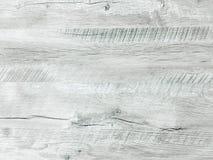 轻的白色洗涤了软的木纹理表面作为背景 难看的东西粉刷了被涂清漆的木板条桌样式上面 免版税图库摄影