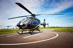 轻的直升机为专用使用 免版税库存图片