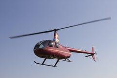 轻的直升机 库存照片