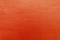 轻的纸红色 库存照片
