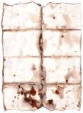 轻的老纸张 免版税库存照片