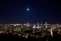 轻的蒙特利尔月亮 免版税库存图片