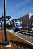 轻的铁路系统运输 免版税库存照片