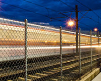 轻的铁路运输 免版税库存照片