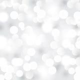轻的银色抽象背景 免版税图库摄影