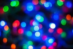轻的闪烁葡萄酒背景, bokeh背景, defocused 生日快乐,情人节,圣诞灯 库存图片