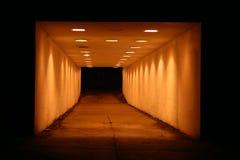 轻的隧道 库存图片