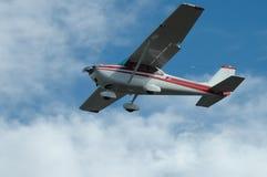 轻的飞机 免版税库存照片