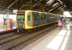 轻的马尼拉铁路运输运输 免版税库存照片