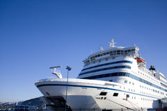 载汽车轮船乘客 免版税库存图片
