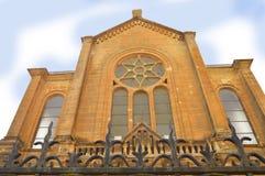 轿车犹太教堂 免版税库存图片