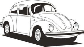 轿车白色 免版税库存照片