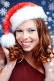 辅助工圣诞老人 免版税库存图片