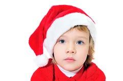 辅助工圣诞老人 库存照片