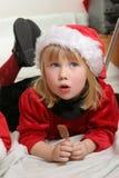 辅助工圣诞老人 库存图片