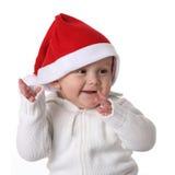 辅助工小圣诞老人 免版税库存图片