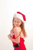 辅助工少许s圣诞老人 免版税库存照片
